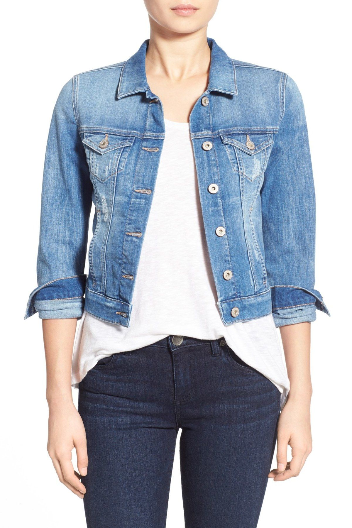 b865025b670 Mavi Samantha Denim Jacket | Styles Fashion Casual