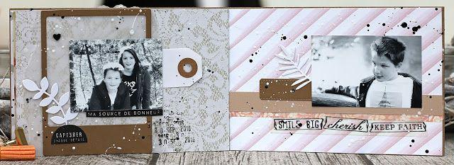 Les créations de Scrapatalie: Mini album Sept... par Shannon