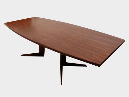 Mid Century Modern Conference Table Droughtrelieforg - Mid century conference table