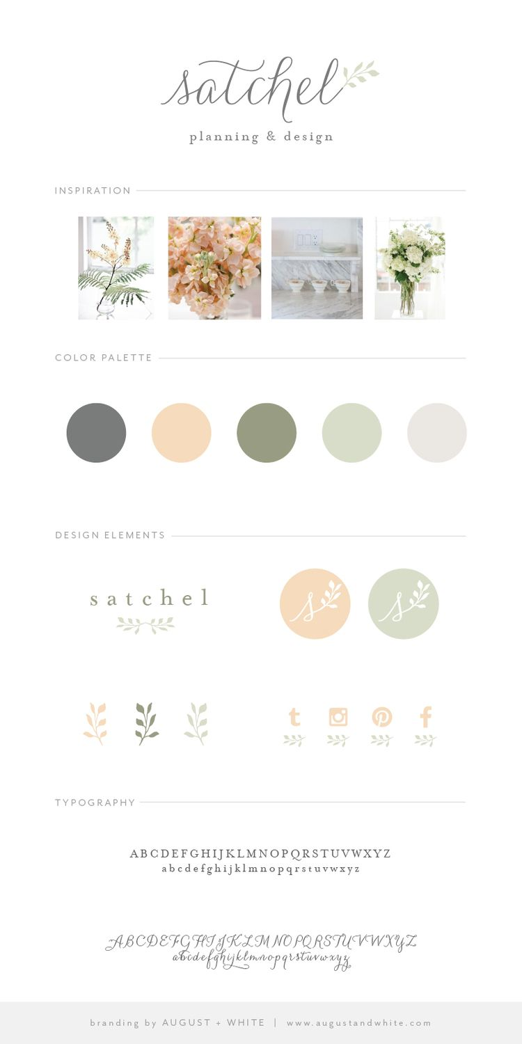 Website soft colors - Calming Colors Brand Reveal Satchel Planning And Design