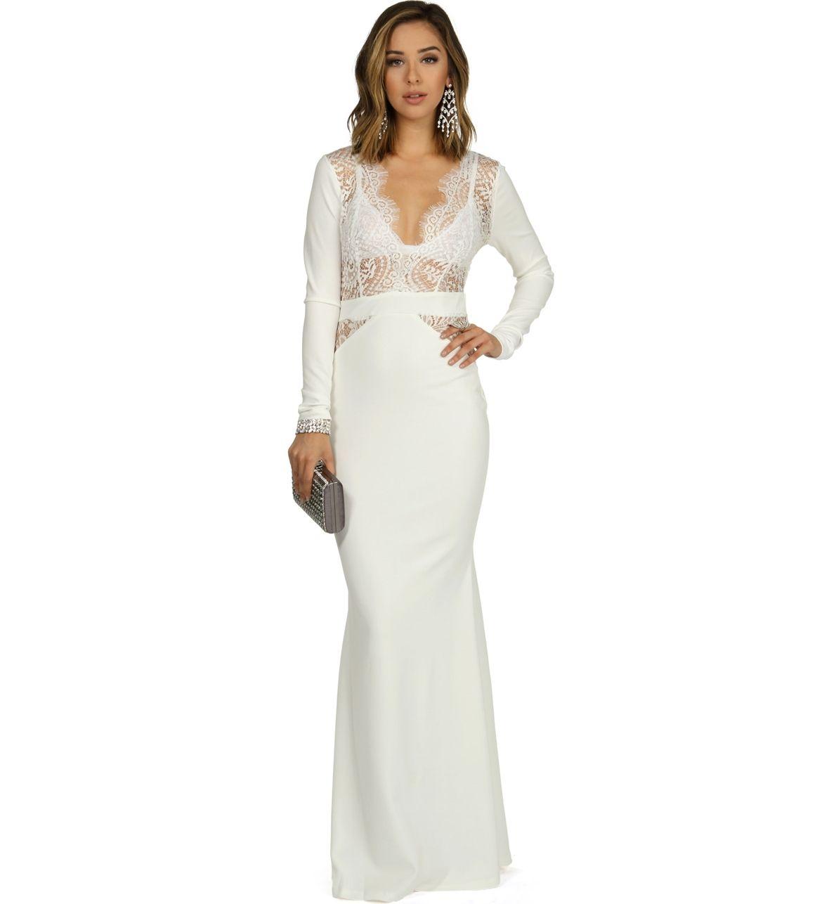 Tara White Prom Dress At WindsorStore