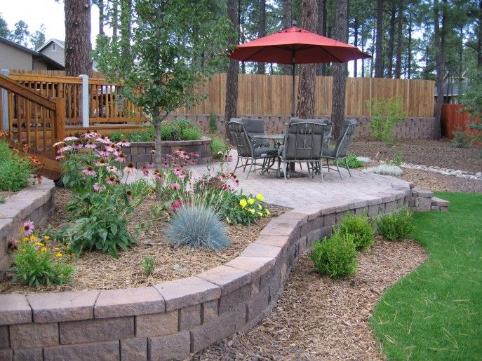 New Country Landscaping Ideas: Patios Pavers .