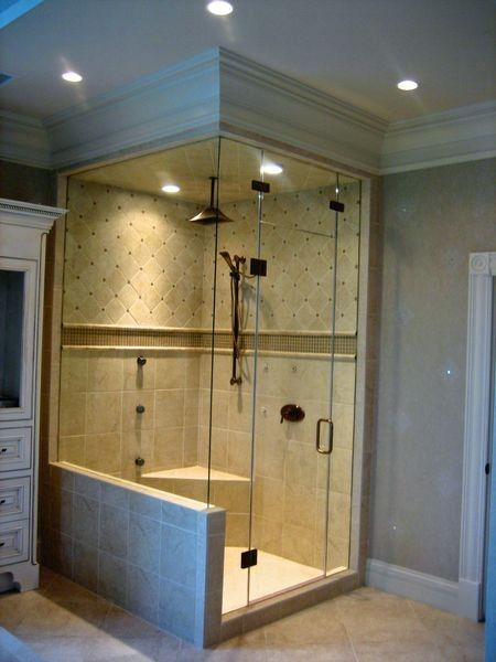 Corner Showers: The Space Saving Shower | Bath Decors | Bathroom ...