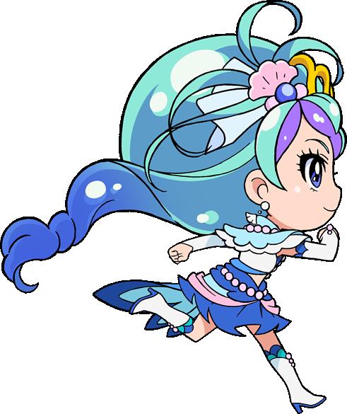 Mermaid(chibi) GPP GO! PRINCESS PRECURE
