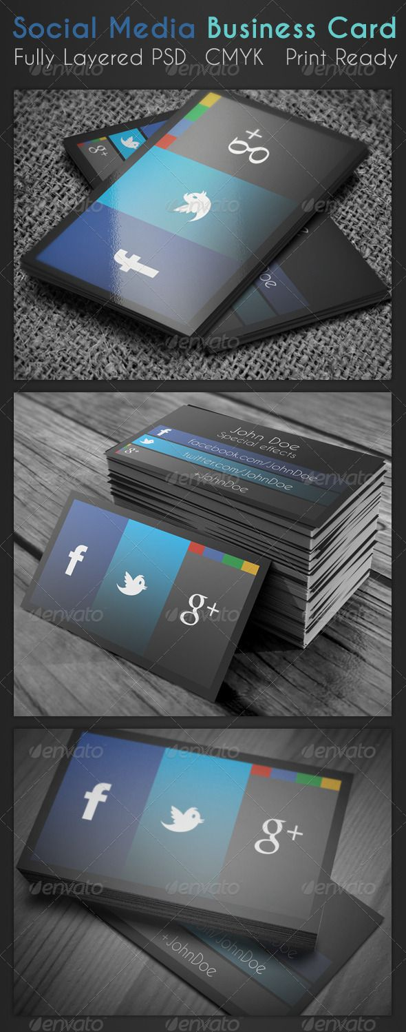 Social media business card business card s e l e c t i o n social media business card magicingreecefo Image collections