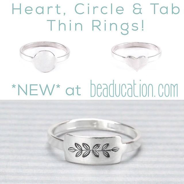 Have you seen the new thin rings in the shop Weve been playing