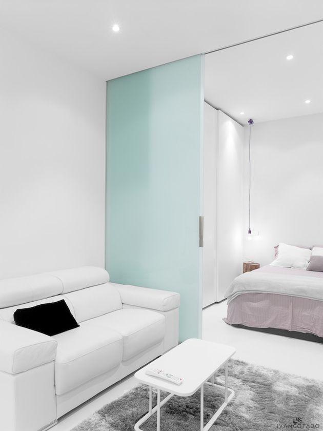 Mini apartamento en Madrid diseño interior Pinterest