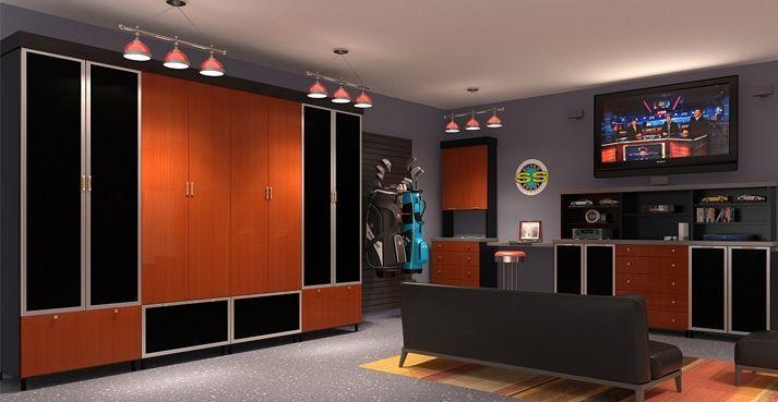 Photo of Garage Man Cave Ideas | … cabinets garage organizers garage systems garage des…