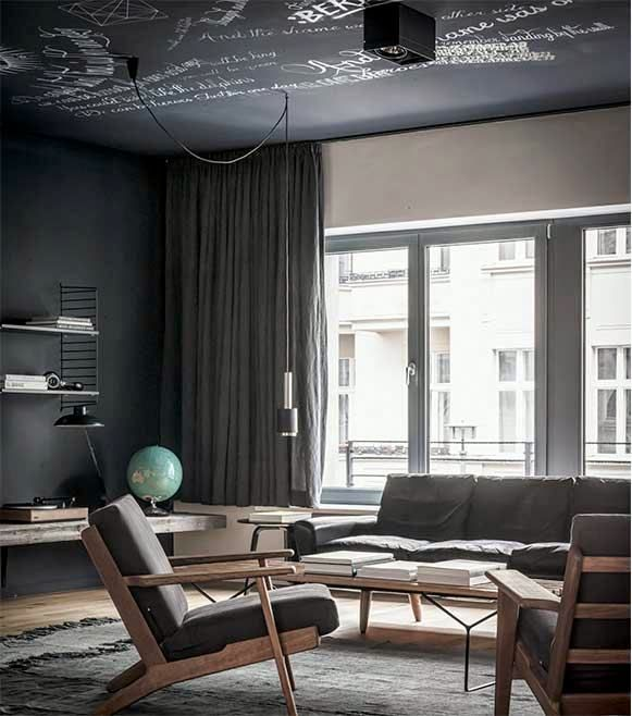 Luxury Apartments Interiors Luxury Living Room Decor: Meet The Edgy, James Bond-Worthy Apartment Of Your Dreams