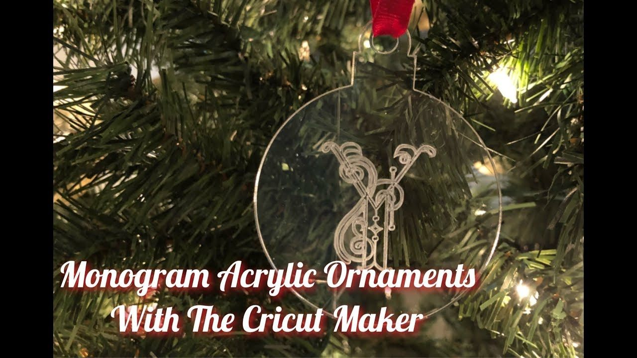 Chomas Creations Maker-Explore Precision Tip Tool with Acrylic Christmas Ornament Package