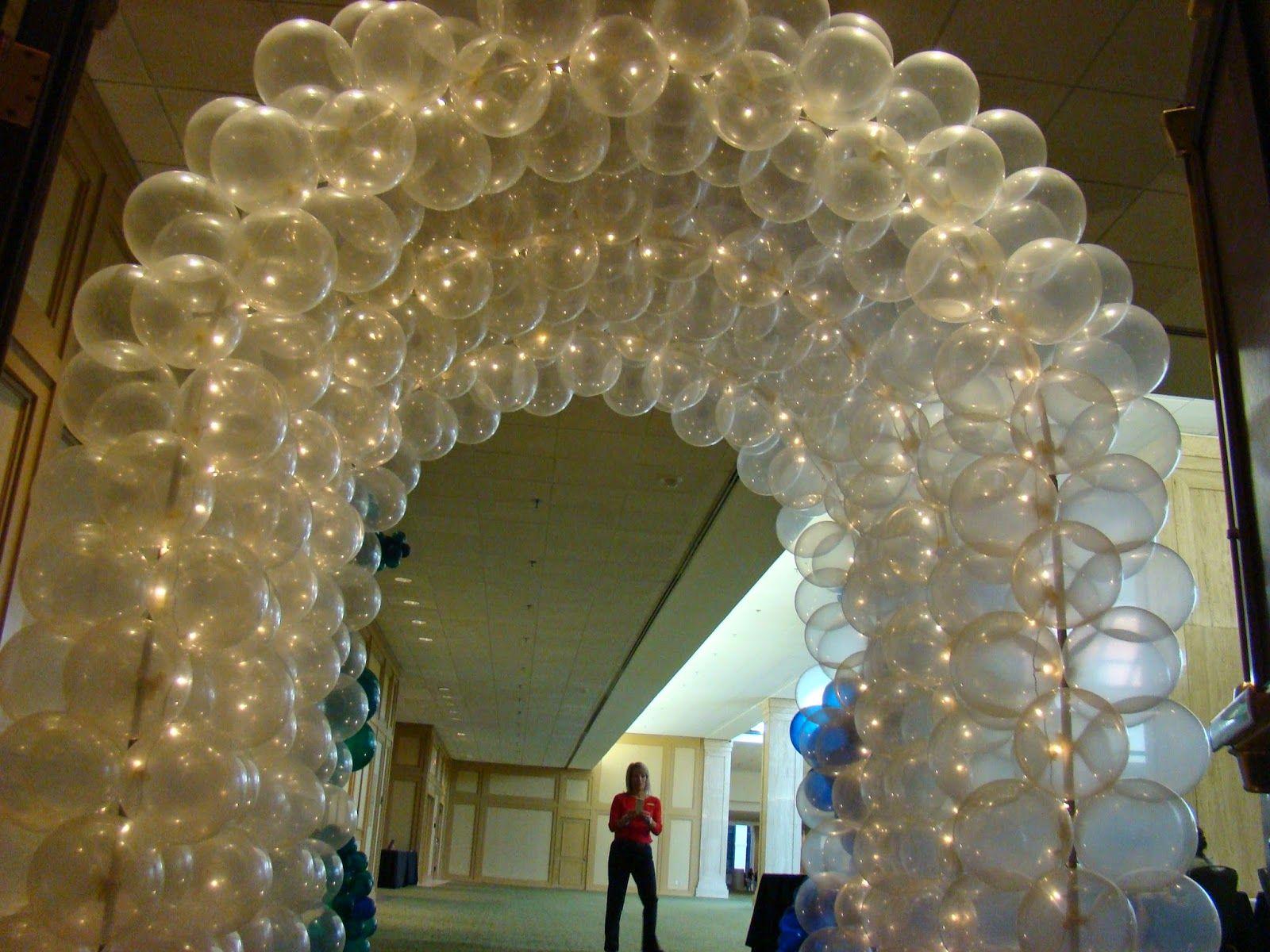 Atlanta Events Extraordinaire Party Blog Triple Balloon Arch Entrance For