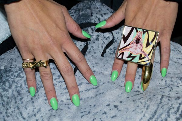 La Nail Design And Color Guide Rihanna Nails Nail Nail And Nail