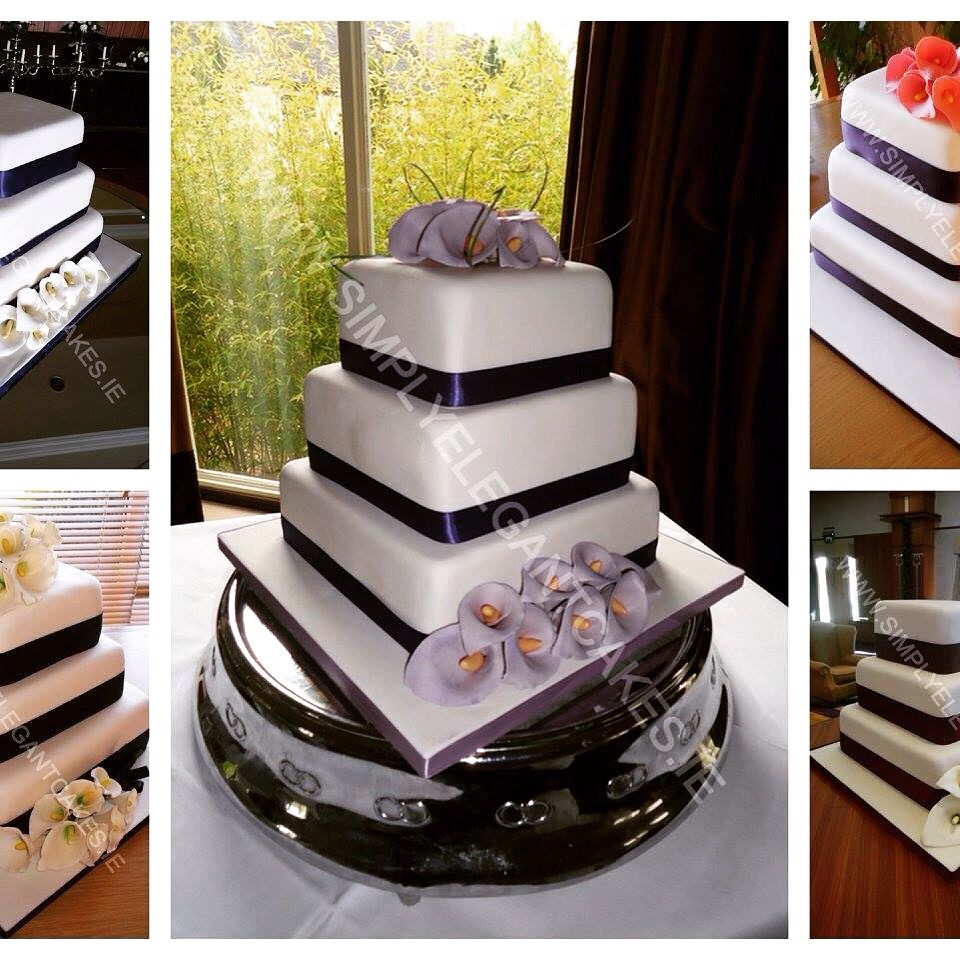 Our Cake Of The Month For May Is Our Boutique Wedding Cake Simple