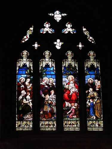 St. Michael's Church | Michael church, Stained glass, Stained glass church