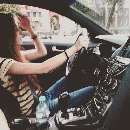 Stylish girl in smart car | Girls styles ☺☺ | Stylish girl