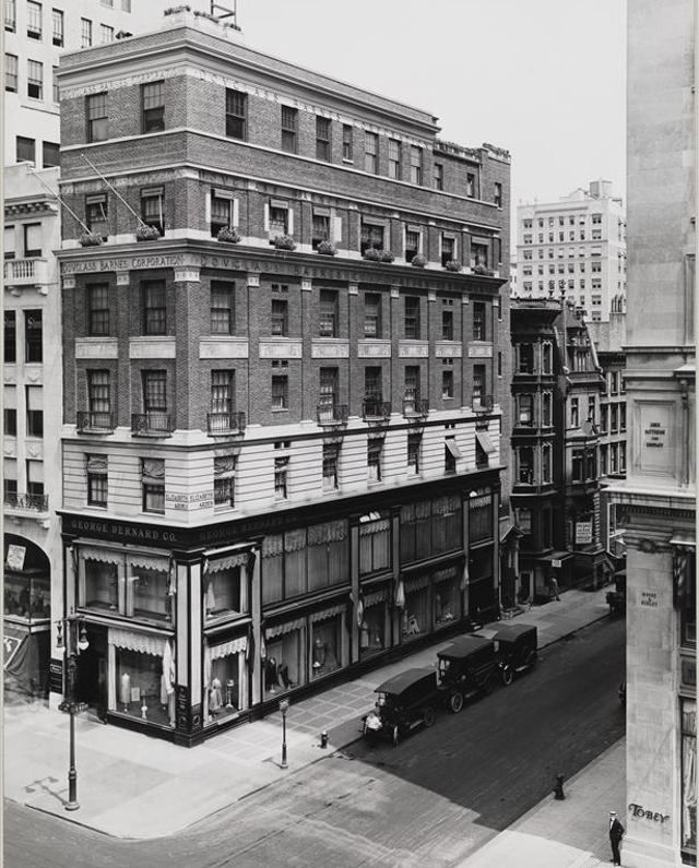 Manhattan To New York City: June 1922, Fifth Ave N.E. Cor., 53rd St