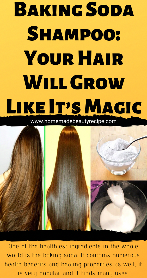 Baking Soda Shampoo Your Hair Will Grow Like It's Magic