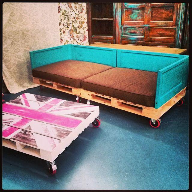 Union Jack Pallet Living Room U P C Y C L I N G
