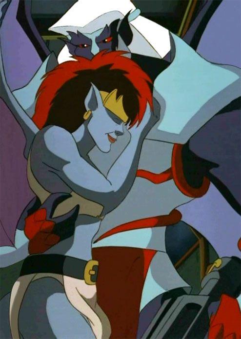 Demona & Thailog from Disney's Gargoyles