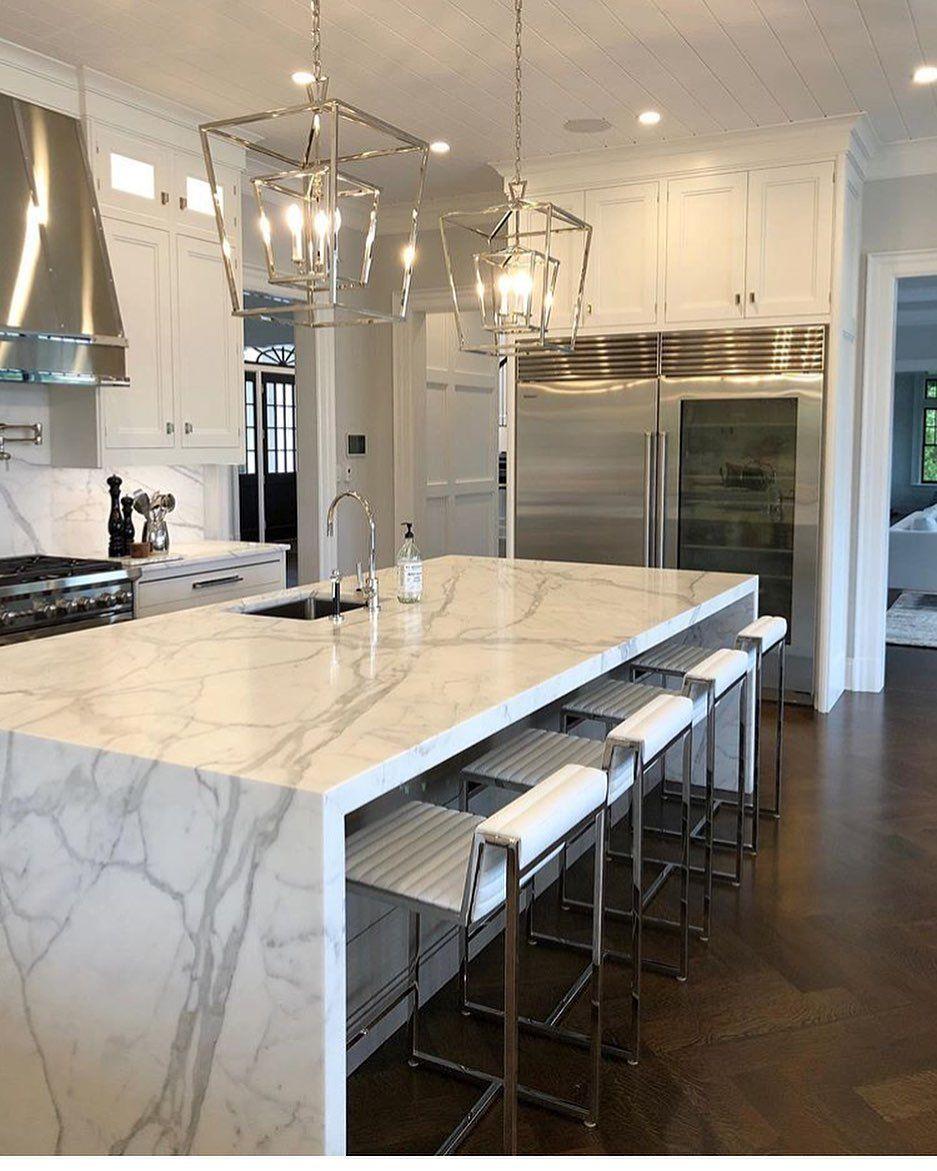 Kitchen inspiration!.....Tag a friend!.... credit: @rai_marble . .  Go ahead and...-#casa