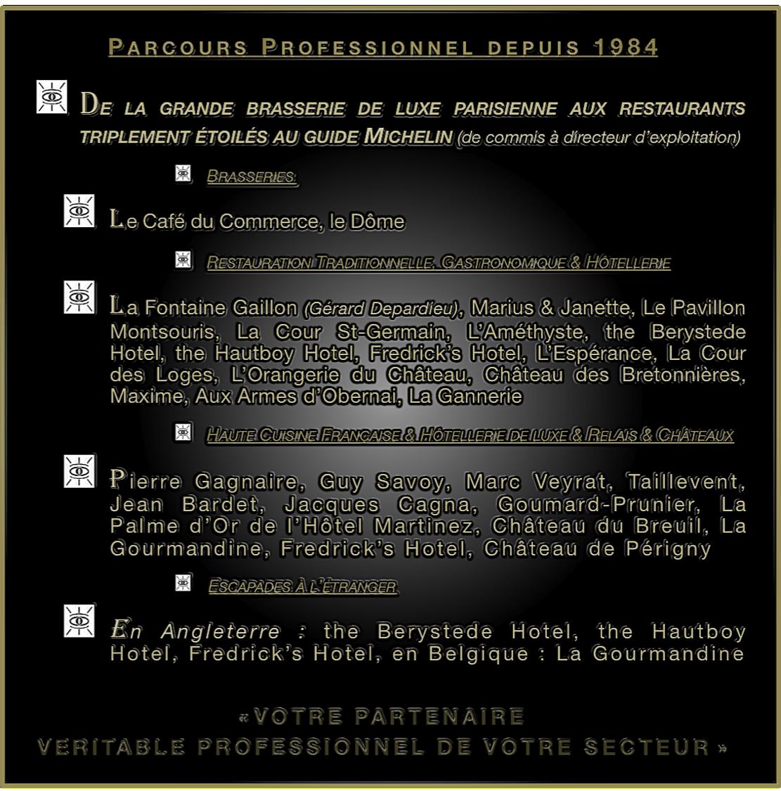 Cv David Maurel Dmparis Recrutement Gerard Depardieu Guide Michelin