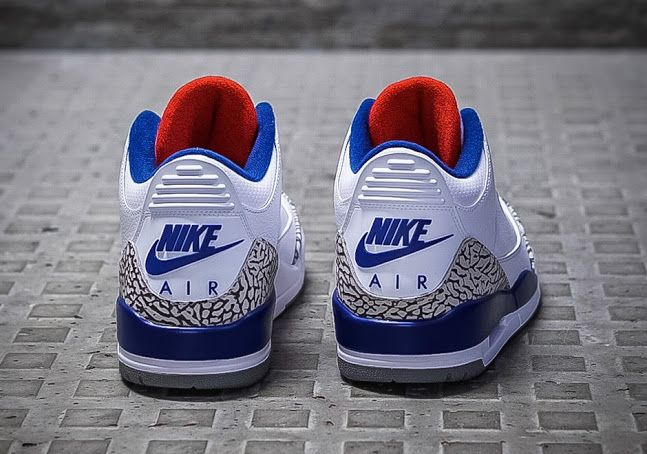 nike air jordans 3 true blue