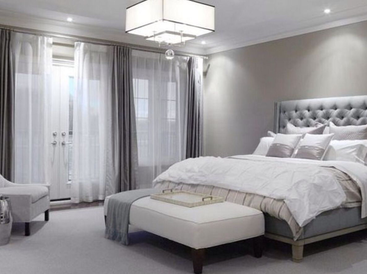 Light Grey Bedroom Silver Bedroom Home Decor Bedroom Grey Home