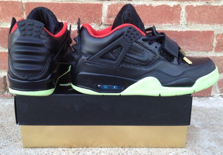Air Jordan IV x Nike Air Yeezy II