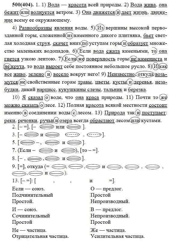 М.м.разумовская готовые домашние задания по русскому языку смотреть бесплатно