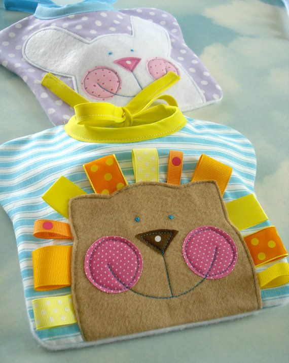 Happy Face Baby Bibs Sewing PDF e Pattern  by preciouspatterns, $3.99