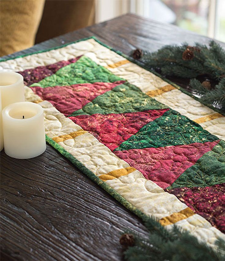 Christmas Tree Table Runner Quilt Pattern: About Fons & Porter, A Division Of