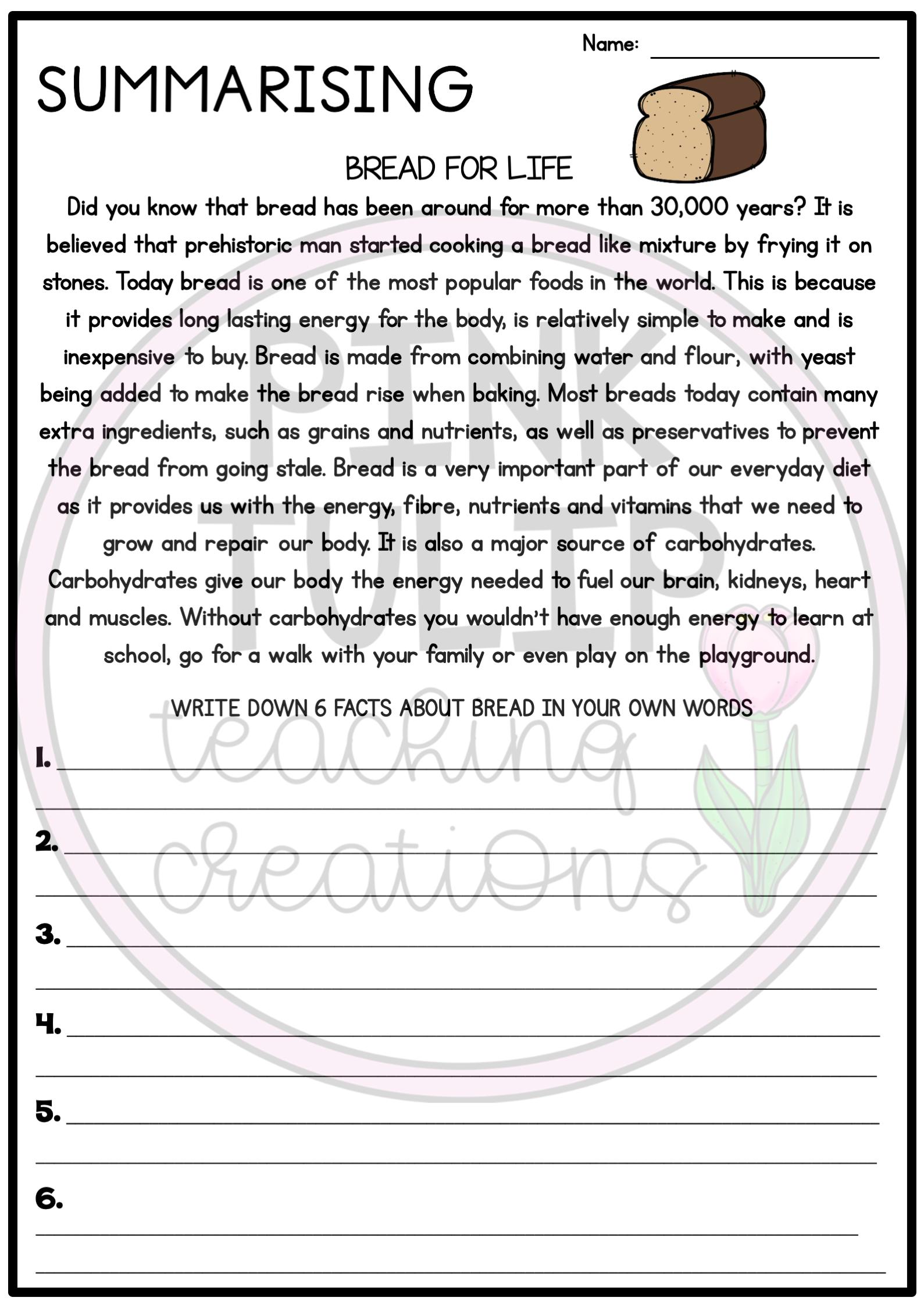 Summarizing Summarising Reading Worksheet Pack Summarizing Reading Reading Worksheets Reading Passages [ 2249 x 1589 Pixel ]