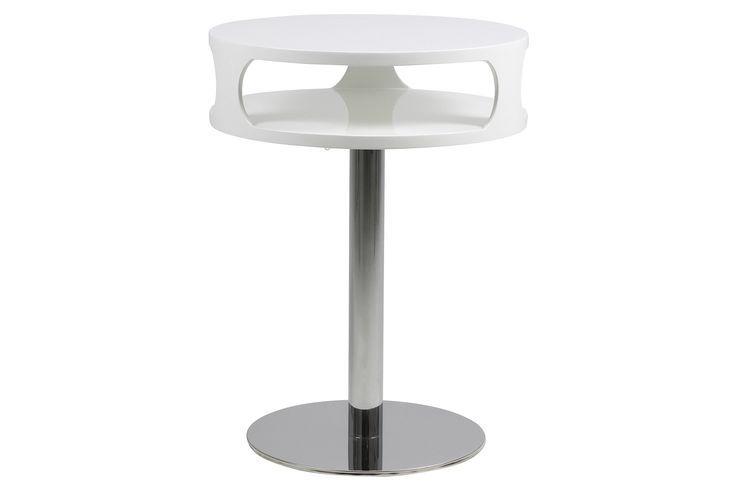 Beistelltisch Weiss Hochglanz Lackiert Woody 169 00209 Chrom Stahl Modern Jetzt Coffee Table 2019 Home Decor Modern