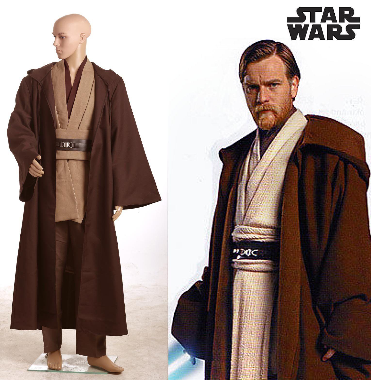 Star Wars Obi-Wan Kenobi Jedi TUNIC neue Version Cosplay Kostüm ...
