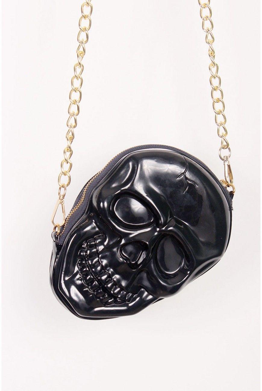 Bolsa Black Skull
