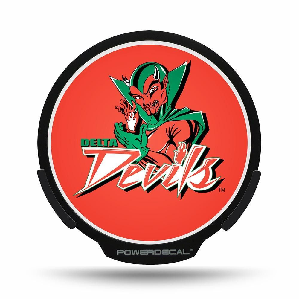 Mississippi Valley Delta Devils NCAA College Vinyl Sticker Decal Car Window Wall