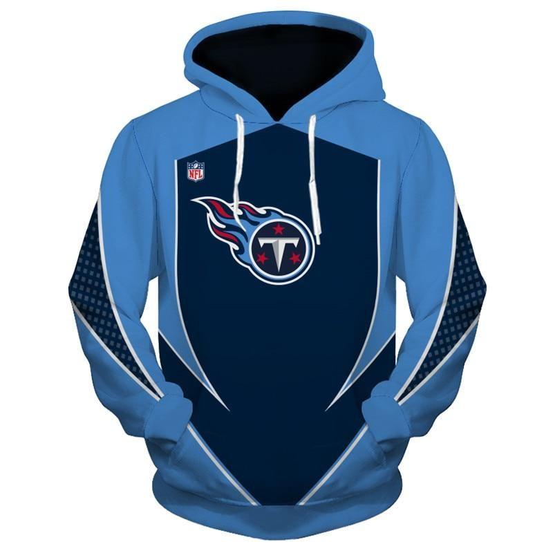 076f937d Tennessee Titans Hoodie 3D Football Sweatshirt Pullover NFL in 2019 ...