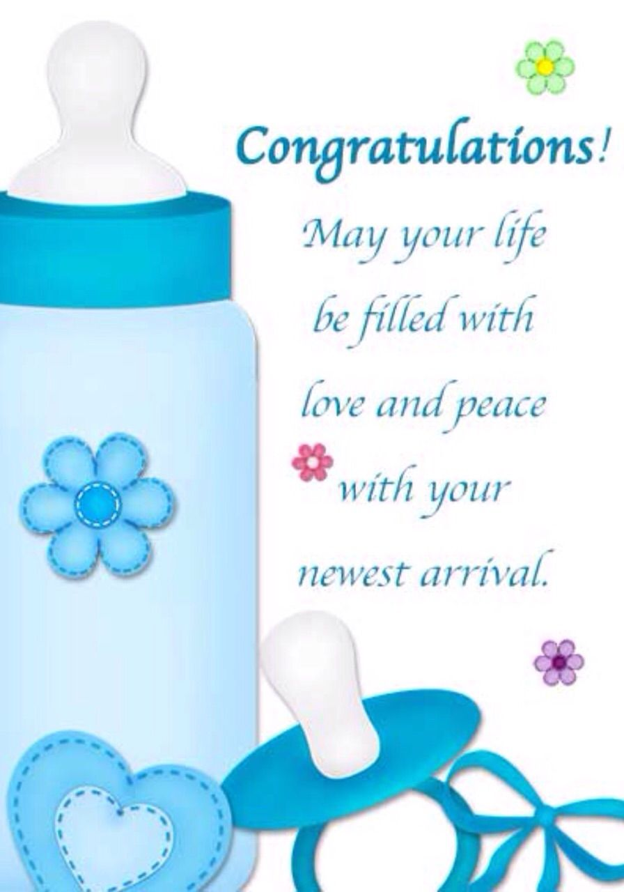 Pin by Dawn H on Greeting cards. Congratulations baby