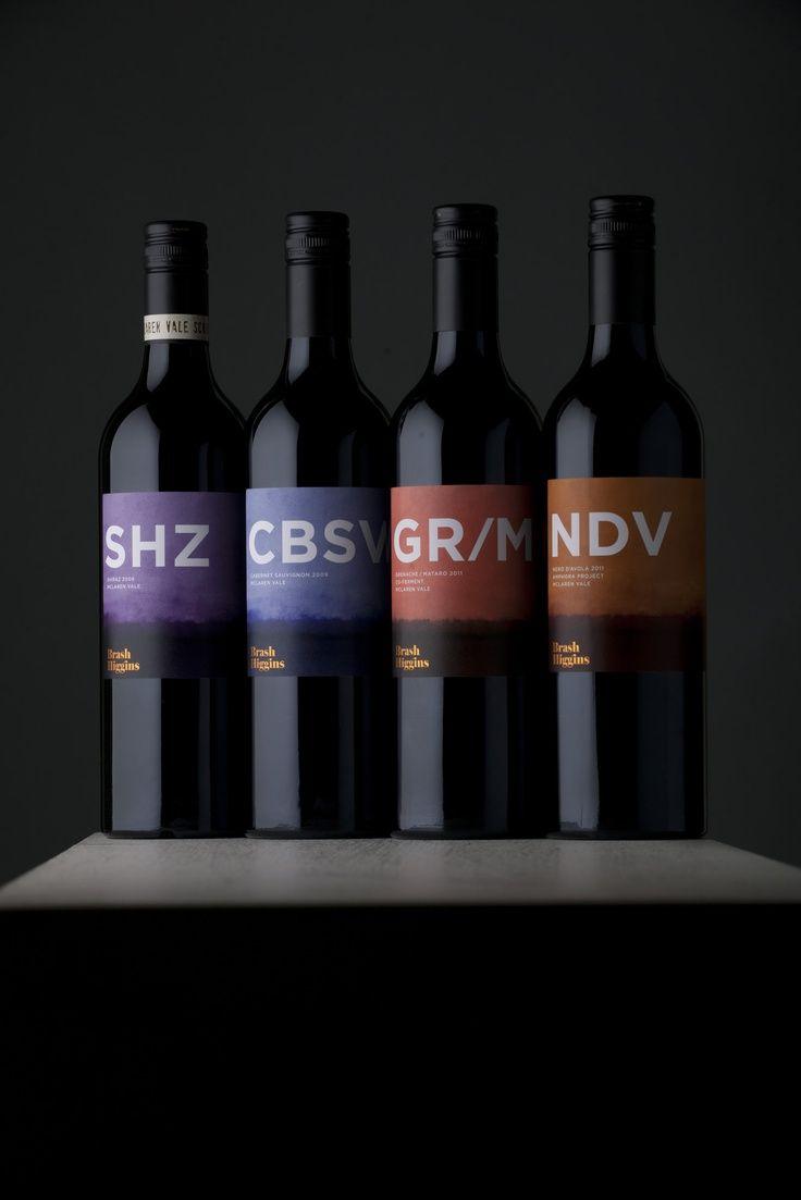 Brush Higgins #vino #naming #pakaging #wine