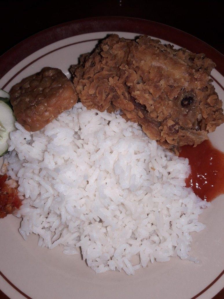 Nasi Ayam Crispy