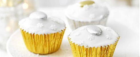 christmas cupcakes white. Kerstdecoraties