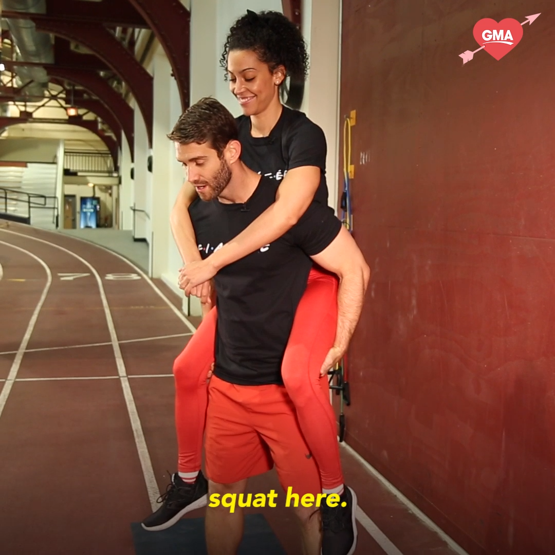 Grab your partner and try this couples workout -   18 fitness Videos frauen ideas
