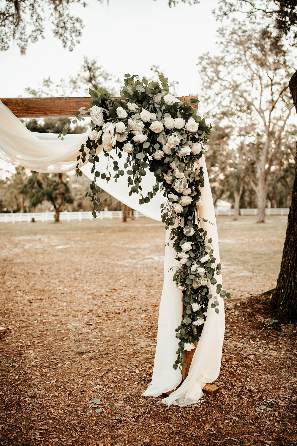 A Whimsical November Wedding in Florida with a Huge Bridal
