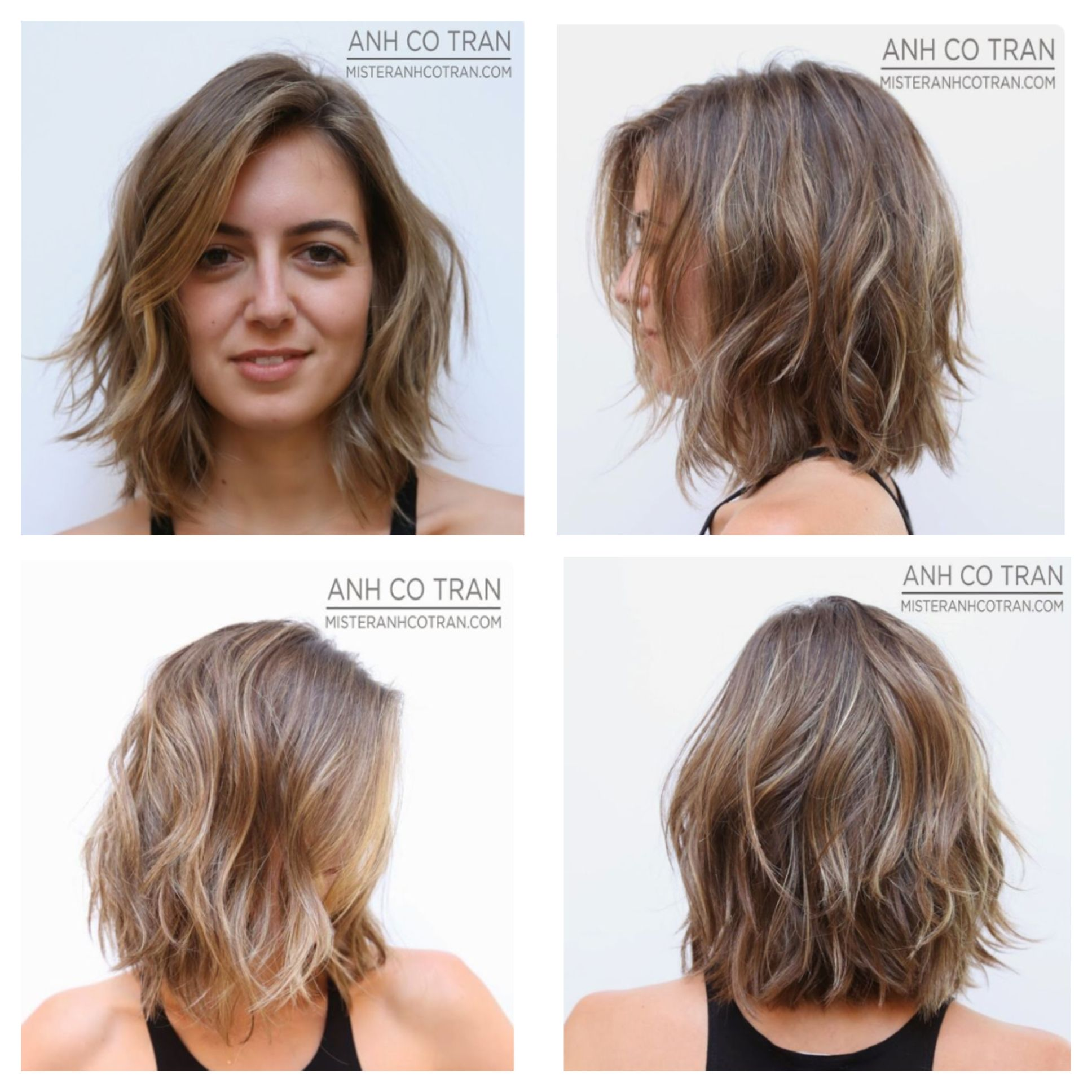 Pin By Anni Kentros On Hair Short Hair With Layers Hairstyles For Thin Hair Thick Hair Styles