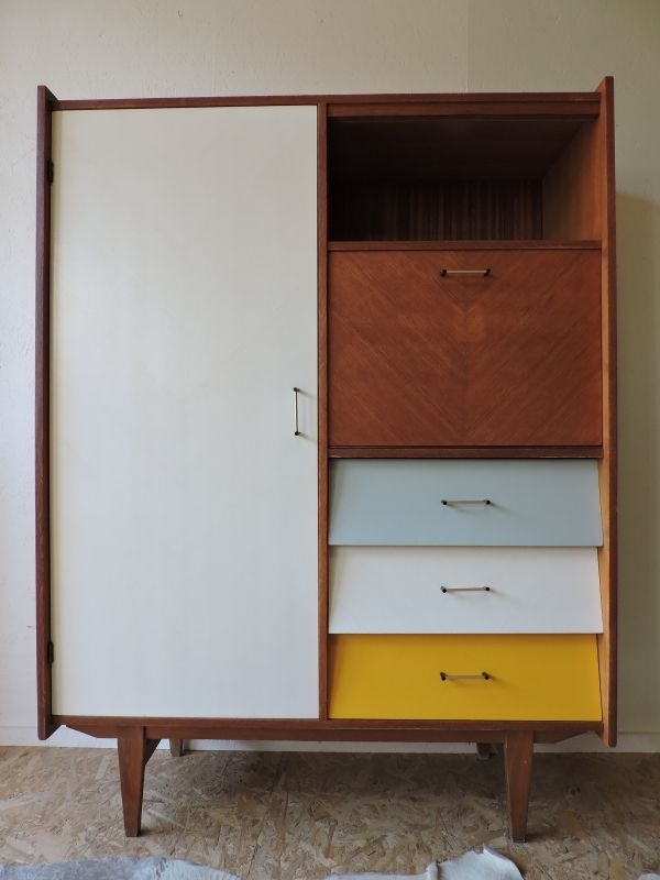 armoire annees 60 revisitee