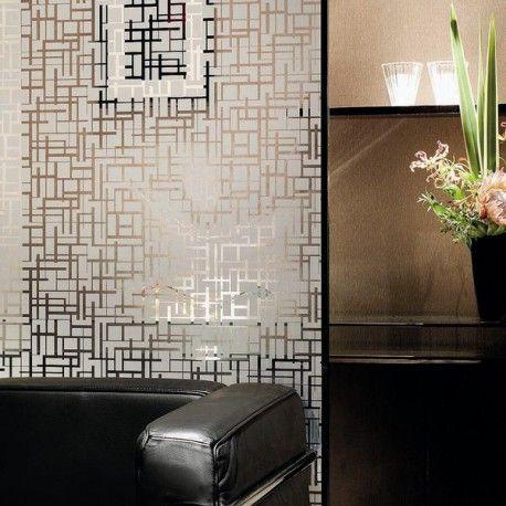 Film Adhesif Fenetre Motif Blanc Pour Interieur Chic Vitre Salle De Bain Adhesif Fenetre Deco Salle De Bain Luxe