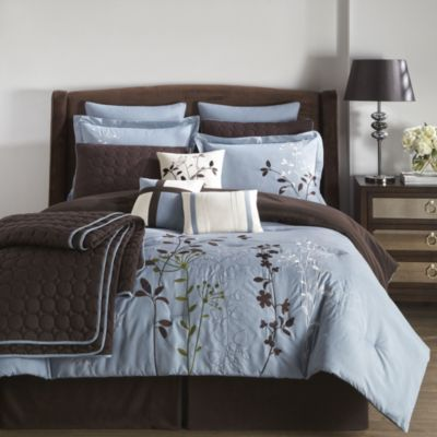 Wholehome Casual Tm Mc Bliss Garden 12 Piece Comforter Set Sears Sears Canada Online Furniture Buying