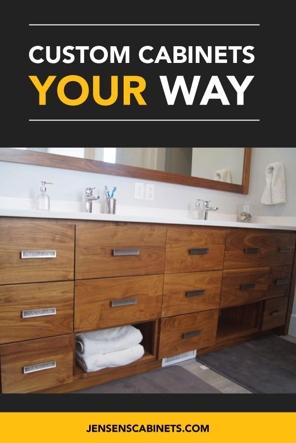 Custom cabinets and drawers made in Utah! | Custom ...