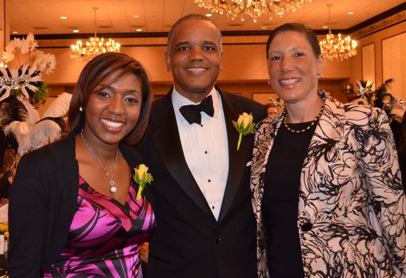 Council Member Yvette Simpson State Of Ohio Senator Eric Kearney And His Wife Jan Michele At The May Festival Opening Gala Kearney Michele Eric