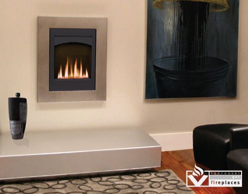 Direct vent insert Eloquence 24 from Brigantia by Archgard at Vancouver Gas  Fireplaces - Small Gas Fireplaces Gas Fireplaces - Kozy Heat Two Harbors Gas